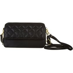Bueno Quilted Front Flap Multi-Function Handbag