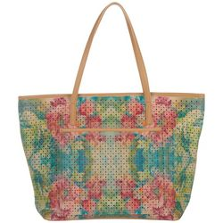 Dawn Davis Flowers For Lauren Tote Handbag
