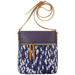 Tackle & Tides Sea Horse Print Crossbody Handbag