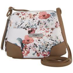 Rosetti Blushing Blossoms June Mini Crossbody Handbag