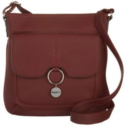 Rosetti Front Flap Pocket Crossbody Handbag