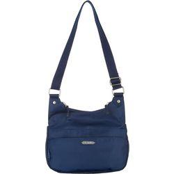 Rosetti Solid Granada Crossbody Handbag