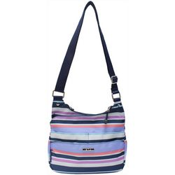 Rosetti Stripe Hype Granada Crossbody Handbag