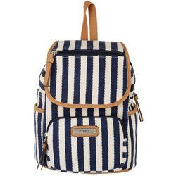 Rosetti Tinley Herringbone Stripe Backpack