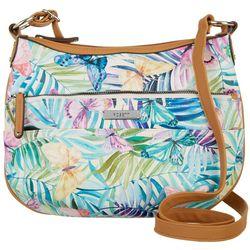 Rosetti Clara Tropical Butterfly Crossbody Handbag