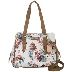 Rosetti Kaycee Floral Print Satchel Handbag