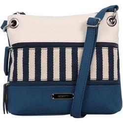 Rosetti Demi Colorblock Stripes Crossbody Handbag