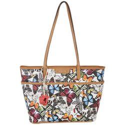 Rosetti Tessa Butterfly Print Tote Handbag