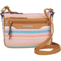 Rosetti Shai Mini Striped Crossbody Handbag