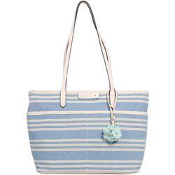 Rosetti Tessa Capri Stripes Tote Handbag