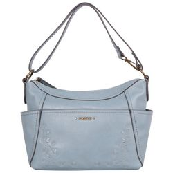 Rosetti Convertible Embossed Hobo Bag