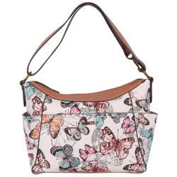 Convertible Butterfly Hobo Bag
