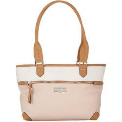 Rosetti Two Tone Janet Tote Handbag