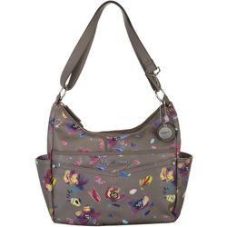 Rosetti Dylan Floral Crossbody Hobo Handbag