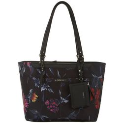 Rosetti The Taryn Mulberry Fl Tote Handbag