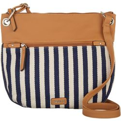 Rosetti Striped Mildred Crossbody Handbag
