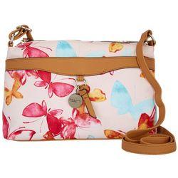 Rosetti Butterfly Print Veronique Mini Crossbody Handbag
