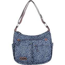Lily Bloom Aberly Polka Dot Handbag