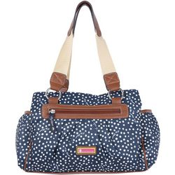 Lily Bloom Landon Polka Dot Satchel Handbag