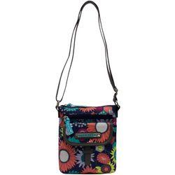 Lily Bloom Vivian Sunflower Crossbody Handbag