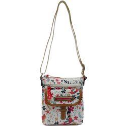 Lily Bloom Vivian Sea Garden Crossbody Handbag