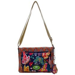 Lily Bloom Lydia Wonderland Butterflies Crossbody Handbag