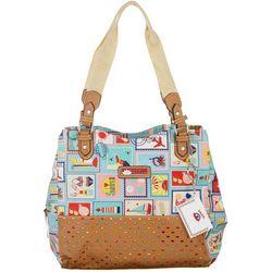 Lily Bloom Darlene Summer Vacation Tote Handbag