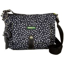 Lily Bloom Dancing Dots Christina Crossbody Handbag