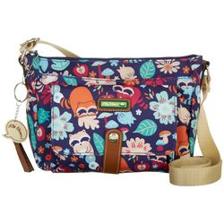 Lily Bloom Harvest Raccoon Christina Crossbody Handbag