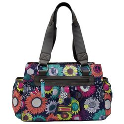 Lily Bloom Landon Sunflower Peace Satchel Handbag