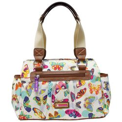 Lily Bloom Landon Butterfly Twister Satchel Handbag