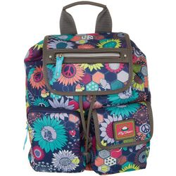 Lily Bloom Riley Sunflower Peace Backpack