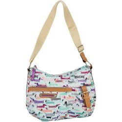 Lily Bloom Totally Paw-some Kathryn Hobo Handbag