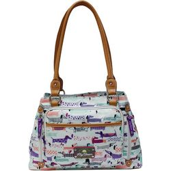 Lily Bloom Totally Paw-some Maggie Satchel Handbag