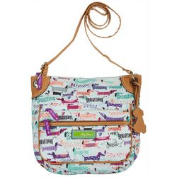 Lily Bloom Totally Paw-some Lori Mid Crossbody Handbag