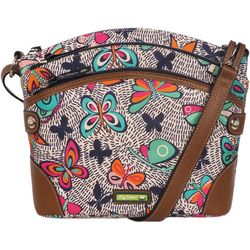 Lily Bloom Uma Night Flight Crossbody Handbag