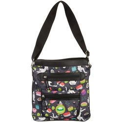 Lily Bloom Bella Meow We Roll Crossbody Handbag