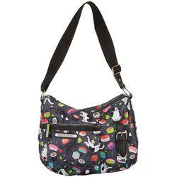 Lily Bloom Meow We Roll Kathryn Hobo Handbag