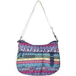 Lily Bloom Kathryn Stripe Jam Hobo Handbag