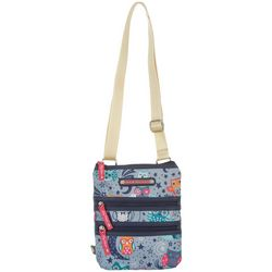 Lily Bloom Eva Night Owl Crossbody Handbag