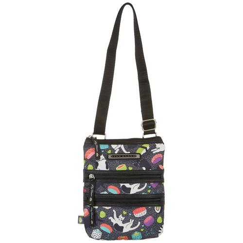 135debec0877 Lily Bloom Eva Meow We Roll Crossbody Handbag
