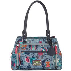 Lily Bloom Maggie Night Owl Satchel Handbag