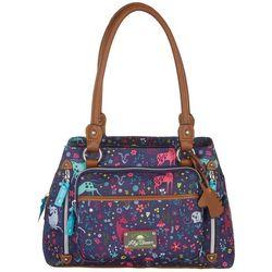 Lily Bloom Maggie Uni-Corny Satchel Handbag