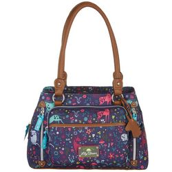 Lily Bloom Maggie Uni-Corny Satchel Handbag