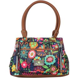 Lily Bloom Maggie Garden State Satchel Handbag