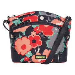 Lily Bloom Uma Festive Floral Crossbody Handbag