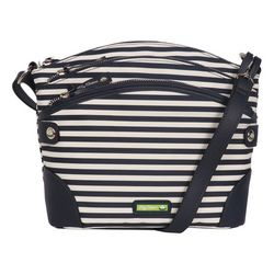 Lily Bloom Uma Striped Crossbody Handbag