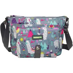 Lily Bloom Christina Llama Crossbody Handbag