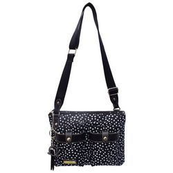 Lily Bloom Dancing Dot Crossbody Handbag
