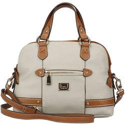 B.O.C. Beechwood Solid Satchel Handbag